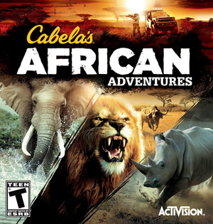 Cover for Cabela's African Adventures.