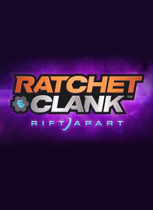 Cover for Ratchet & Clank: Rift Apart.