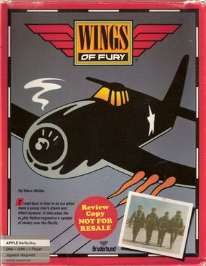 Cover for Wings of Fury.
