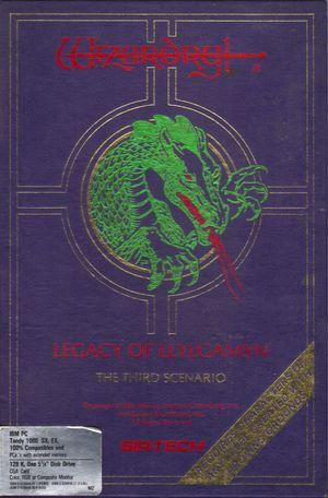 Cover for Wizardry III: Legacy of Llylgamyn.