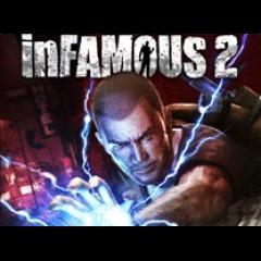 Cover for InFamous 2.