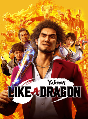 Cover for Yakuza: Like a Dragon.