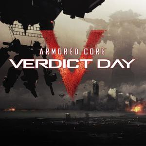 Cover for Armored Core: Verdict Day.