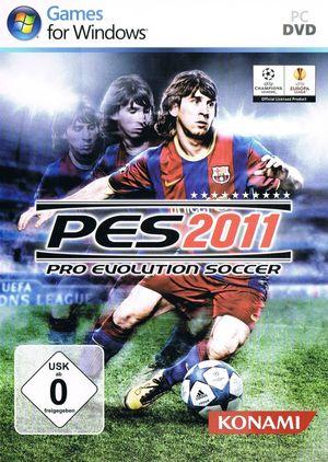 Cover for Pro Evolution Soccer 2011.