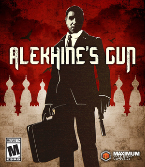 Cover for Alekhine's Gun.