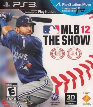 Cover for MLB 12: The Show.