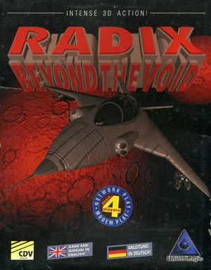 Cover for Radix: Beyond the Void.