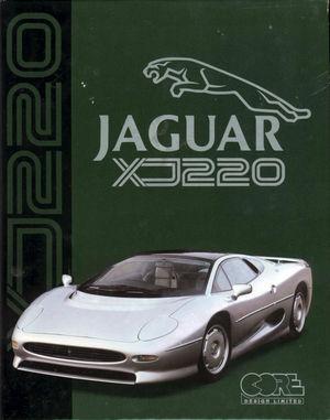 Cover for Jaguar XJ220.