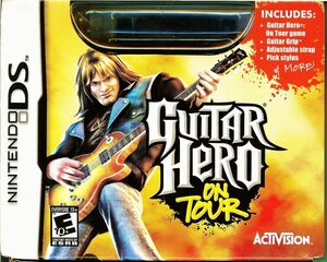 Cover for Guitar Hero: On Tour.