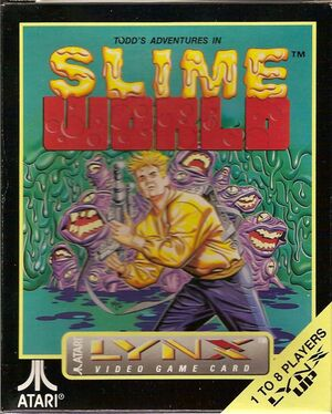 Cover for Todd's Adventures in Slime World.