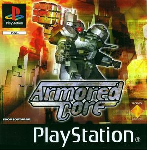Cover for Armored Core.