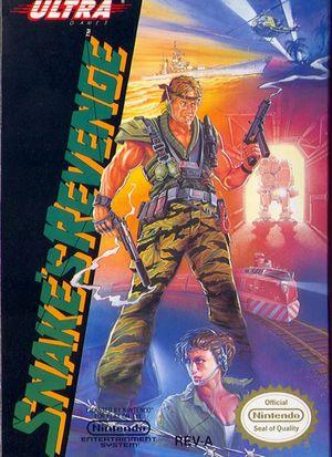 Cover for Snake's Revenge.