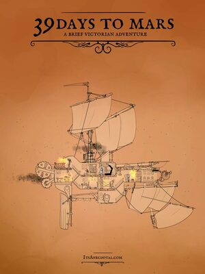 Cover for 39 Days to Mars.