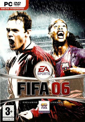 Cover for FIFA 06.