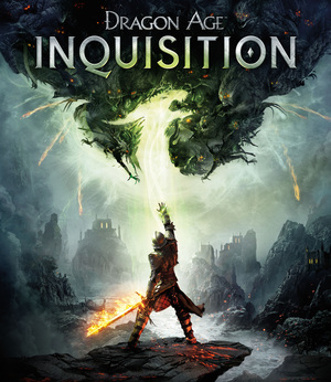 Cover for Dragon Age: Inquisition.