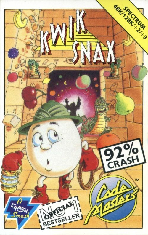 Cover for Kwik Snax.