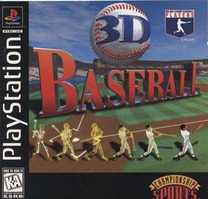 Cover for 3D Baseball.