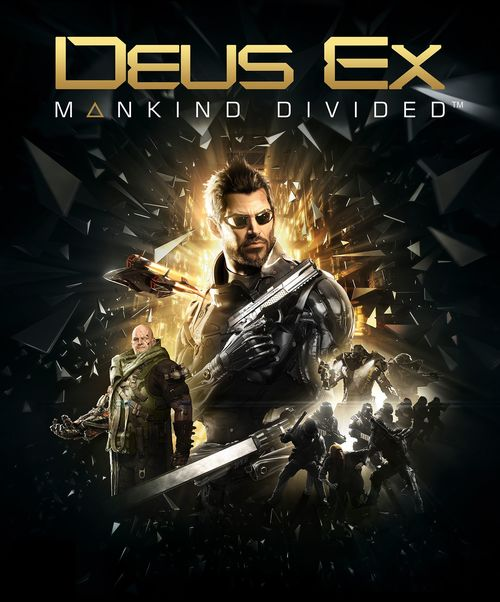Cover for Deus Ex: Mankind Divided.