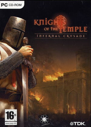 Cover for Knights of the Temple: Infernal Crusade.