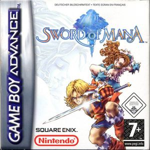 Cover for Sword of Mana.