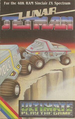 Cover for Lunar Jetman.