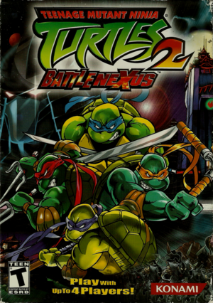 Cover for Teenage Mutant Ninja Turtles 2: Battle Nexus.