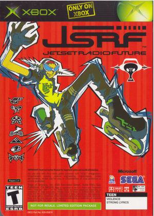 Cover for Jet Set Radio Future.