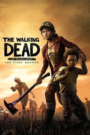 Cover for The Walking Dead: The Final Season.