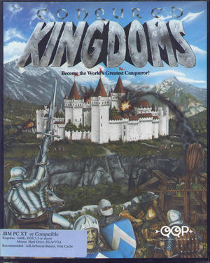 Cover for Conquered Kingdoms.