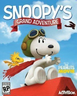 Cover for The Peanuts Movie: Snoopy's Grand Adventure.