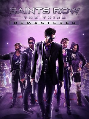 Cover for Saints Row: The Third Remastered.