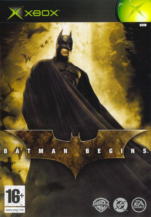 Cover for Batman Begins.