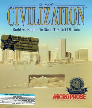 Cover for Civilization.