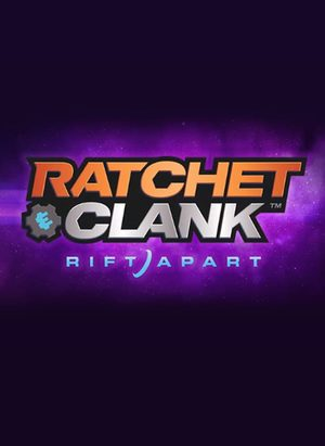 Cover for Ratchet & Clank: Rift Apart.