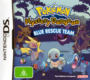 Cover for Pokémon Mystery Dungeon: Blue Rescue Team.