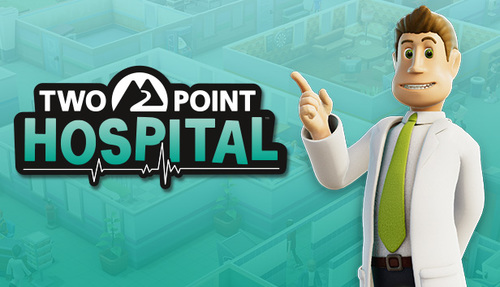Cover for Two Point Hospital.