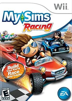 Cover for MySims Racing.