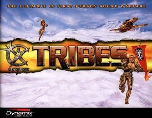 Cover for Starsiege: Tribes.