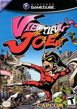 Cover for Viewtiful Joe.