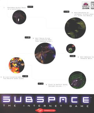 Cover for SubSpace.