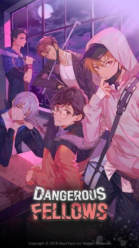 Cover for Dangerous Fellows.