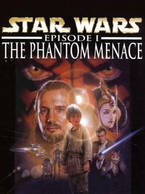 Cover for Star Wars Episode I: The Phantom Menace.