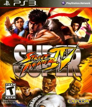 Cover for Super Street Fighter IV.