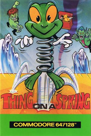 Cover for Thing on a Spring.