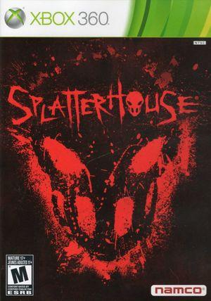 Cover for Splatterhouse.
