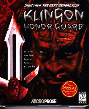 Cover for Klingon Honor Guard.