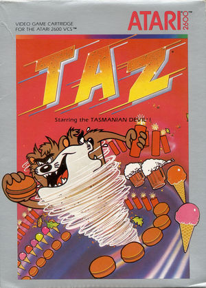 Cover for Taz.