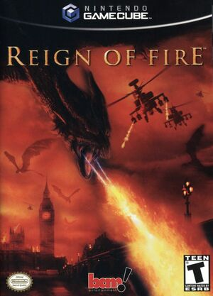 Cover for Reign of Fire.