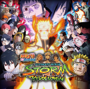 Cover for Naruto Shippuden: Ultimate Ninja Storm Revolution.