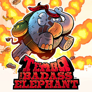 Cover for Tembo the Badass Elephant.